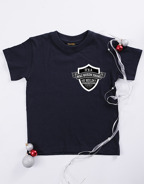 clothing: Personalised Your Thing Kids T Shirt!