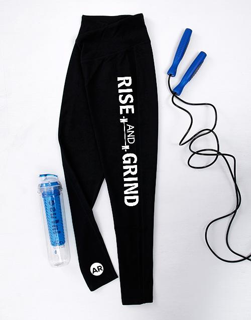 personalised: Leggings X Small Black!