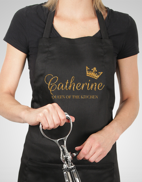 personalised: Personalised Queen Apron!