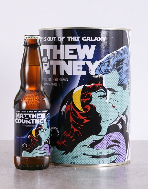 fine-alcohol: Personalised Galaxy Craft Beer!