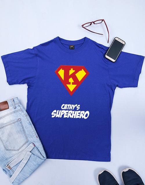 clothing: Personalised Her Superhero Shirt!