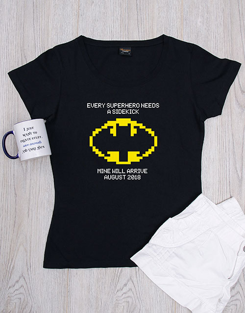 mothers-day: Personalised Mom's Sidekick Shirt!
