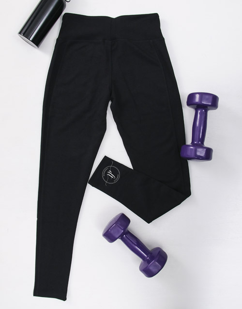 personalised: Personalised Workout Tights With Initials!