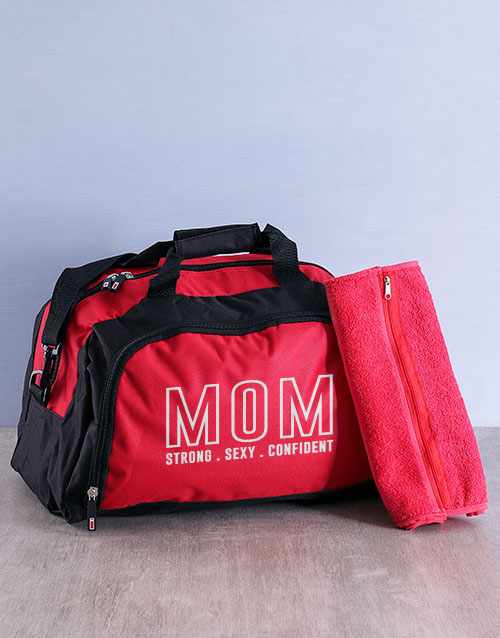 activewear: Personalised Mom Gym Bag Kit!