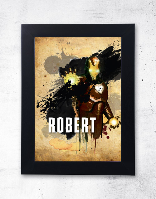 home-decor: Personalised Iron Man Frame!