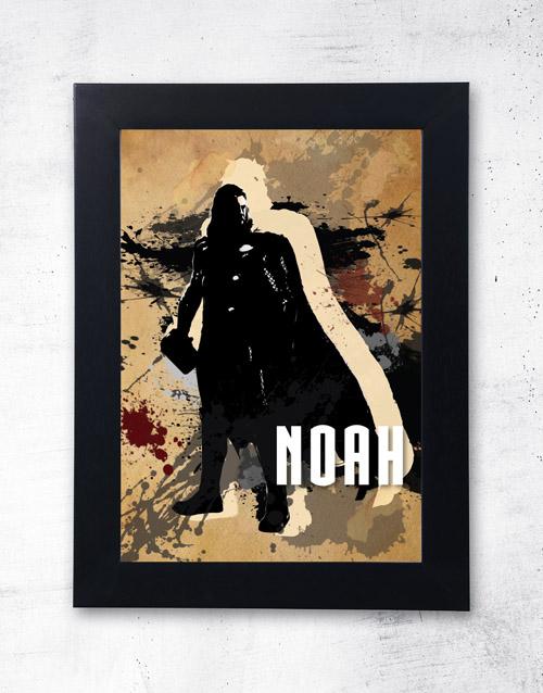 personalised: Personalised Thor Frame!