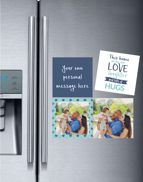 christmas: Personalise This Home Magnets!