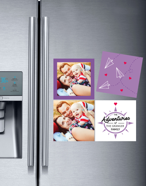 homeware: Personalised Family Adventure Magnets!