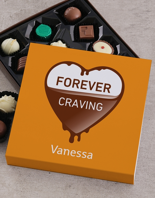 personalised: Personalised Chocolate Craving Tray!