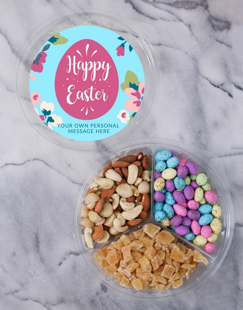 easter: Personalised Easter Fruit & Nut Tub!
