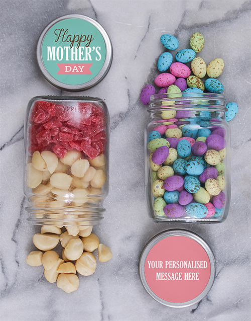 mothers-day: Personalised Mothers Day Fruit Jar Set!