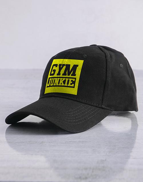 activewear: Personalised Black Junkie Peak Cap!