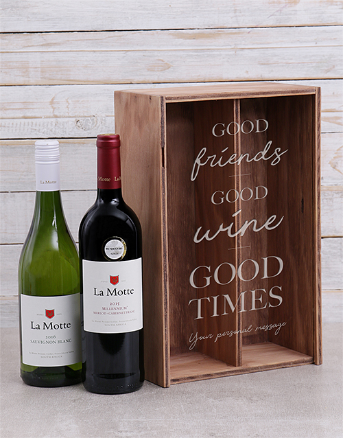 fine-alcohol: Personalised Good Times Crate!