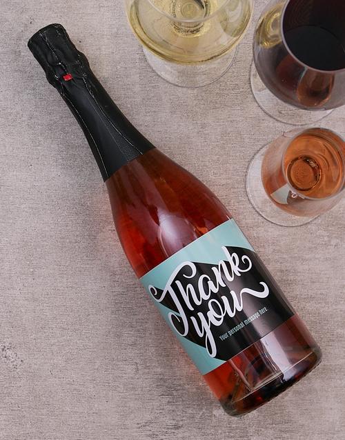 personalised: Personalised Appreciation Wine!