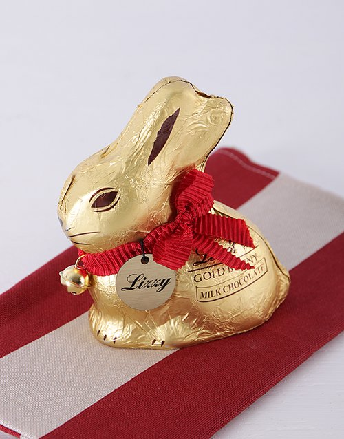 easter: Personalised Lindt Bunny!