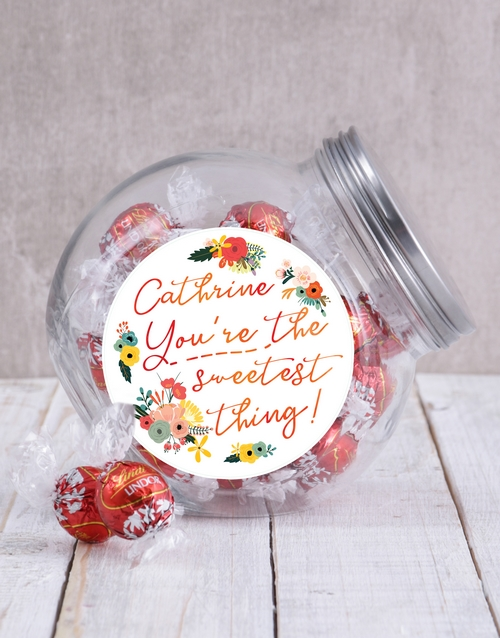 friendship: Personalised Sweetest Candy Jar!
