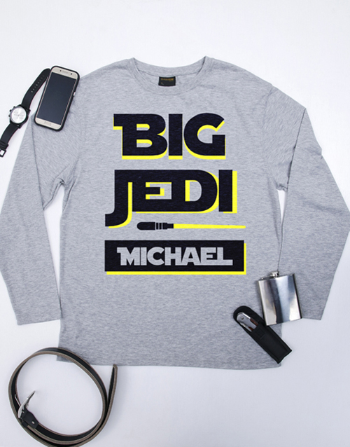 get-well: Personalised Big Jedi Mens T Shirt!