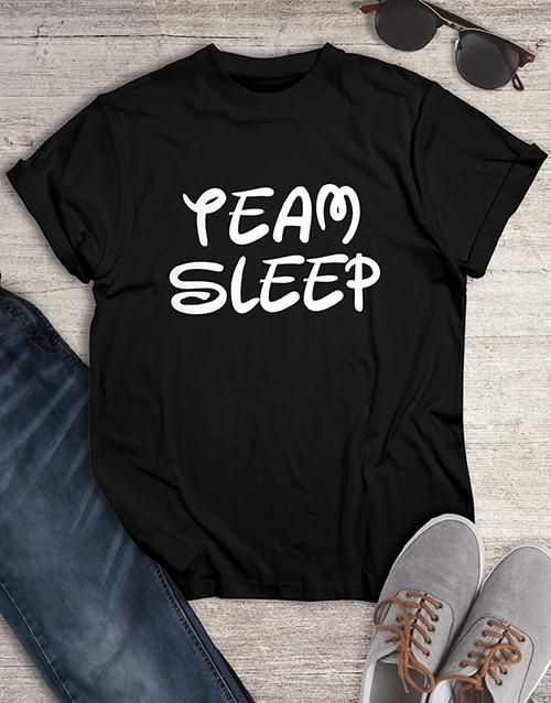 clothing: Personalised Team Sleep Mens Shirt!