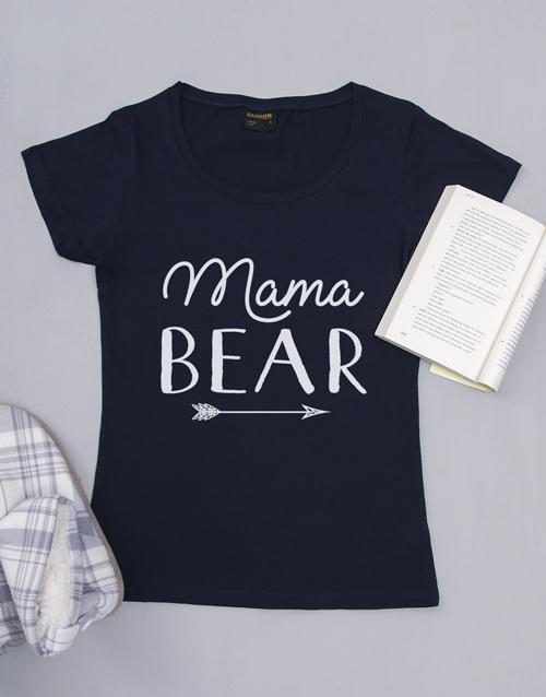 clothing: Personalised Mama Bear Ladies Shirt!
