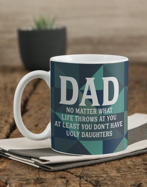 homeware: Personalised Geo Dad Mug!