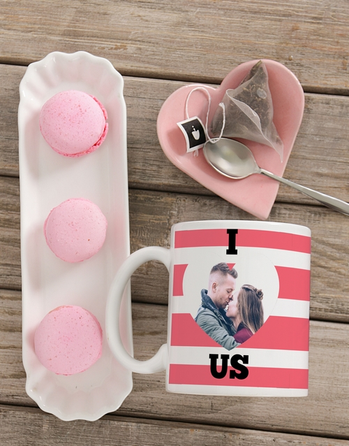 anniversary: Personalised Cute Romance Photo Mug!