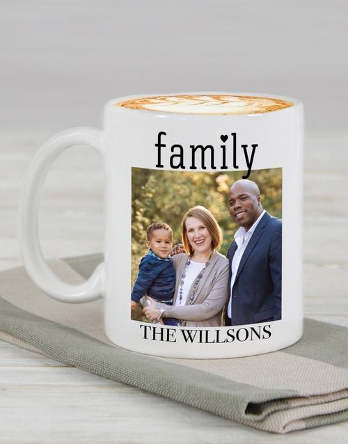 christmas: Personalised Family Photo Mug !