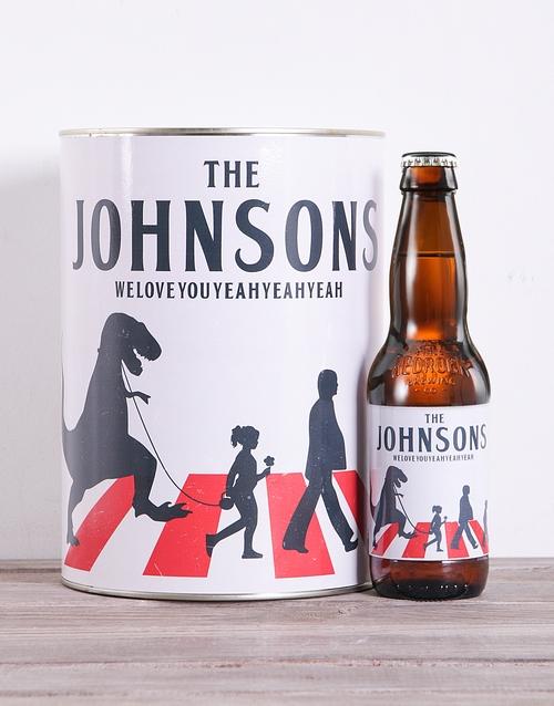 fine-alcohol: Personalised Beatles Craft Beer!