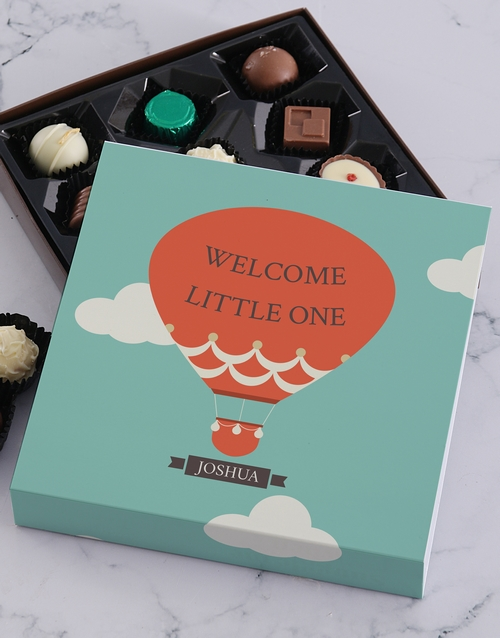 baby: Personalised Welcome Little One Tray!