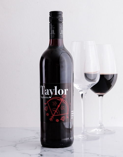 fine-alcohol: Personalised Zodiac Fire Signs Wine!