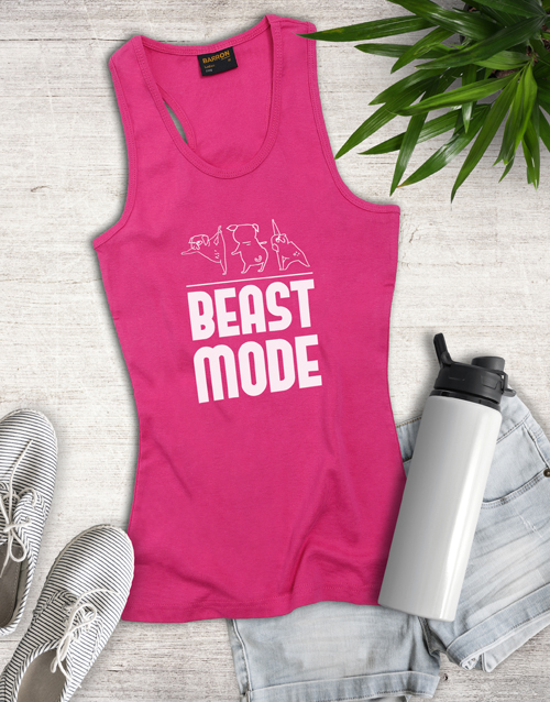 clothing: Beast Mode Shirt for Ladies!