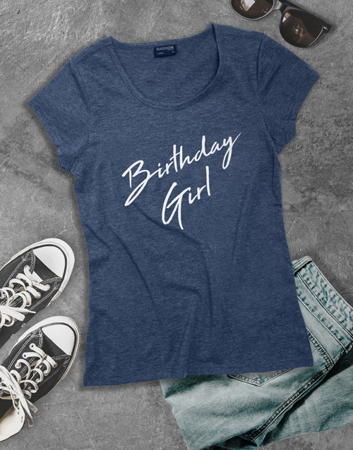clothing: Birthday Girl Shirt for Ladies!