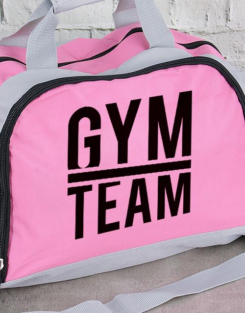 activewear: Personalised Team Gym Bag!