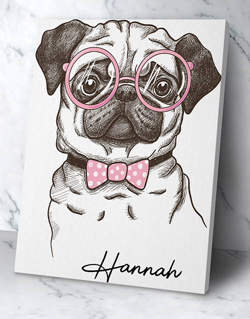 home-decor: Personalised Cute Dog Wall Art!