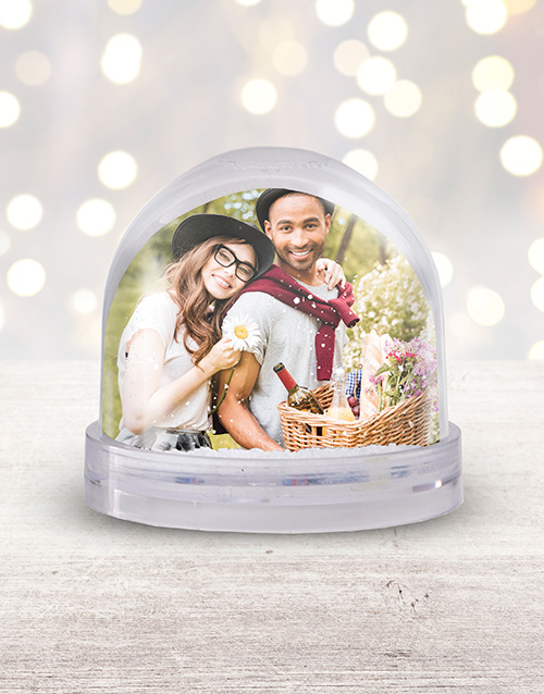 christmas: Personalised Christmas Photo Snow Globe!