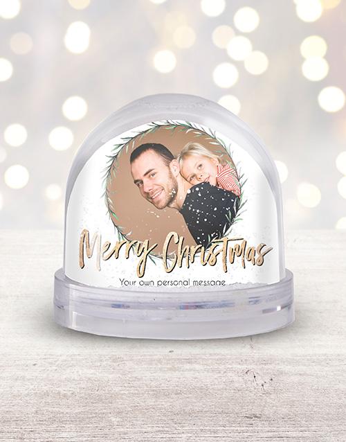 home-decor: Personalised Photo Snow Globe!