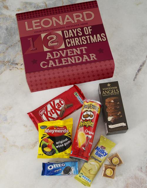 christmas: 12 Days Of Christmas Gourmet Advent Calendar!