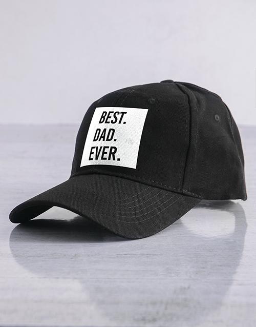 birthday: Personalised Black Best Ever Cap!