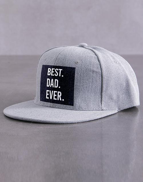 activewear: Personalised Grey Best Ever Peak Cap!