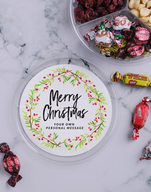 christmas: Personalised Christmas Nut Tub!