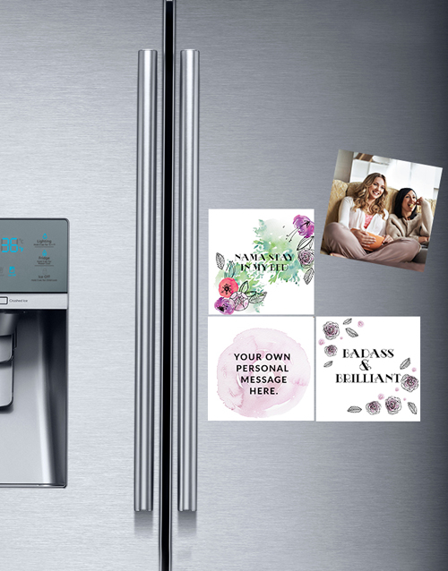 christmas: Personalised Namastay Fridge Magnets!