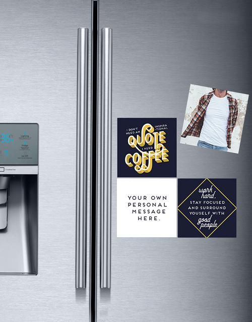 personalised: Personalised Inspirational Fridge Magnets!
