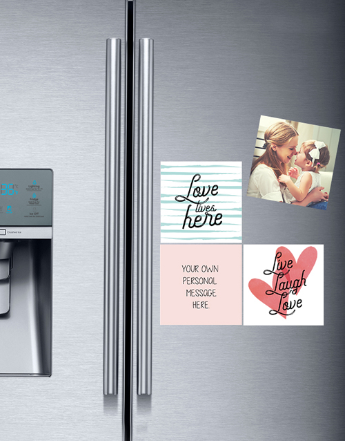 personalised: Personalised Live and Love Fridge Magnets!