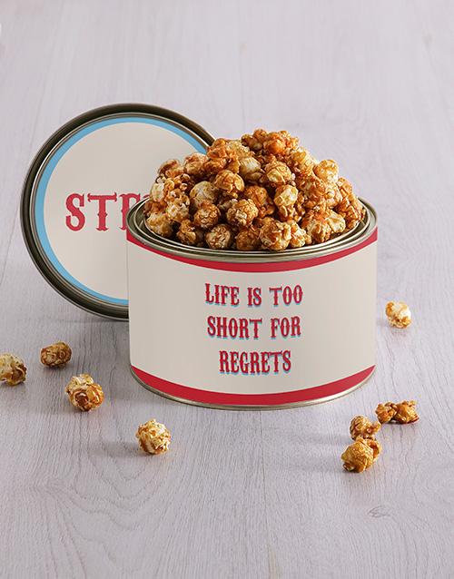 friendship: Personalised Life Popcorn Tin!