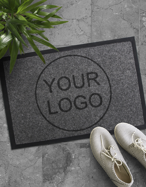 house-warming: Personalised Your Company Logo Doormat!