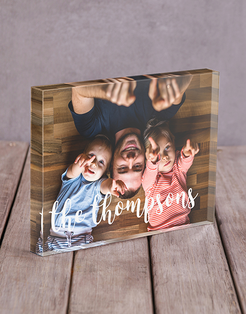 home-decor: Personalised Surname Acrylic Block!