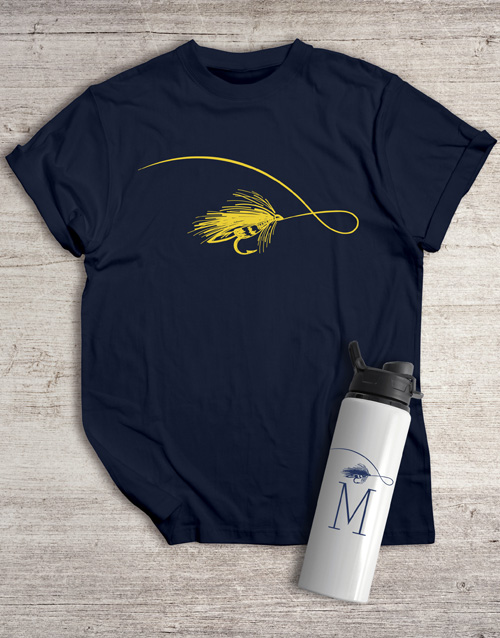 personalised: Personalised Buzz Water Bottle And T Shirt!