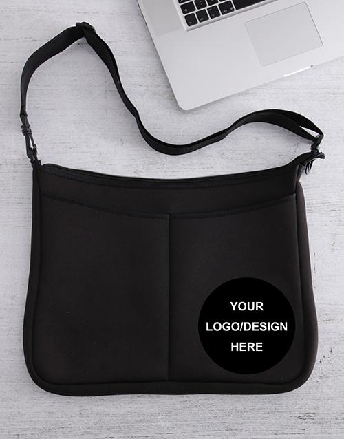 birthday: Personalised Own Logo Laptop Bag!