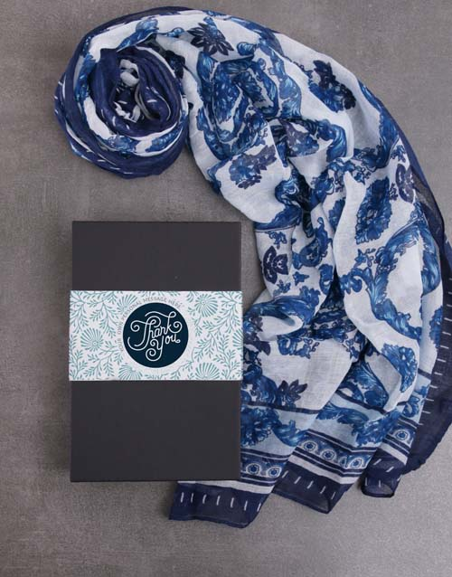 apparel: Personalised Thank You Scarf Gift!