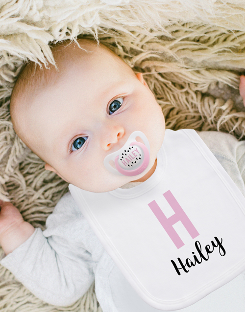 baby: Personalised Little Hearts Clothing Set!