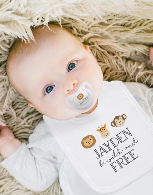 baby: Personalised Wild One Clothing Set!